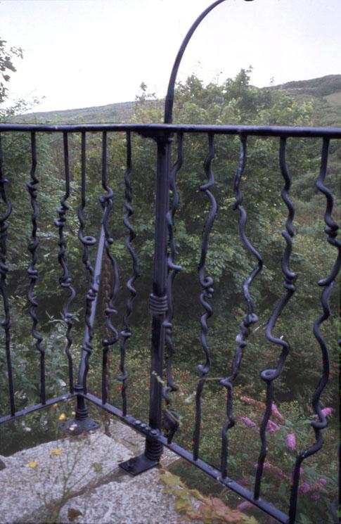 Roof Garden Railings - detail