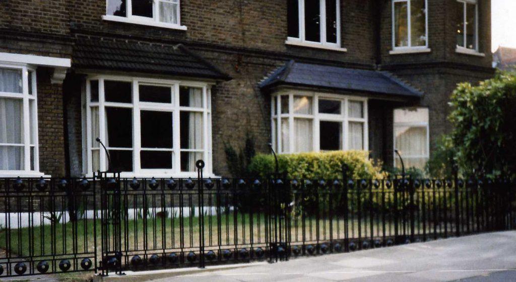 London house Railings