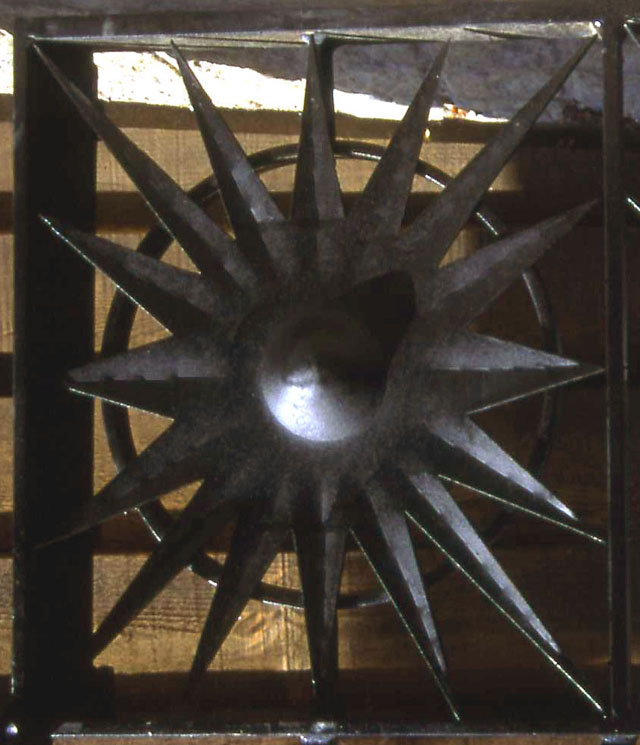 Starry Gazey Gates - detail