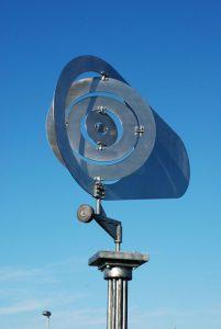 Wind Vane - outdoor kinetic sculpure