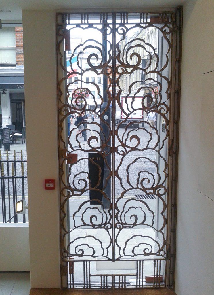 Hanina Gallery gates interior